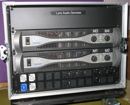 Amp Rack Front
