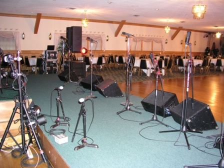 Swing Band Setup