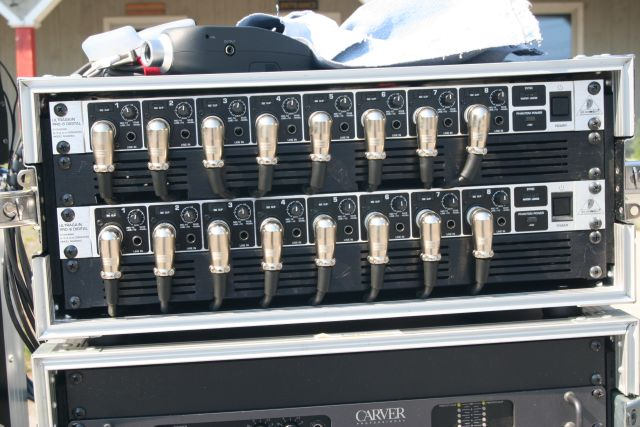 Preamp Rack